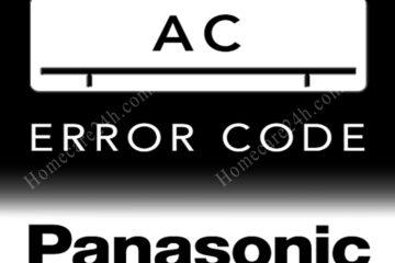 Bảng mã lỗi của điều hòa panasonic, nguyên nhân và cách kiểm tra