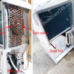 Cấu tạo máy hút ẩm không khí và nguyên lý hoạt động cơ bản