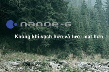 Chế độ Nanoe G của điều hòa Panasonic, lọc sạch 99% bụi PM2.5