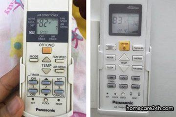 Cách kiểm tra lỗi trên điều khiển điều hòa Panasonic