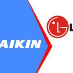 So sánh điều hòa Đaikin và LG