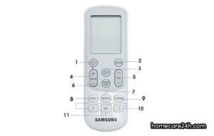 Hướng dẫn sử dụng điều khiển điều hòa Samsung