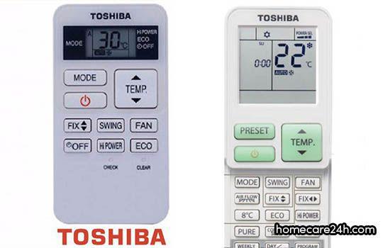 Hướng dẫn sử dụng điều hòa Toshiba