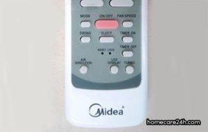 Remote máy lạnh Midea