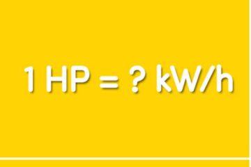 Công suất HP là gì? 1 HP bằng bao nhiêu W/h, bao nhiêu BTU/h