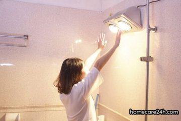 Cách chọn vị trí lắp đèn sưởi nhà tắm phù hợp, chuẩn kỹ thuật