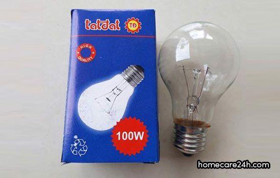 Bóng đèn 100W tốn bao nhiêu điện