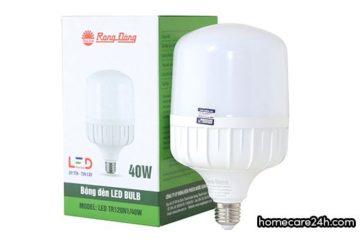 Bóng đèn 40W tiêu thụ bao nhiêu điện năng