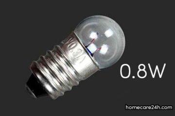 Bóng đèn tròn bao nhiêu W, bóng đèn tròn có tốn điện không?