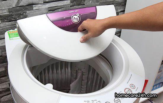 Cách vệ sinh máy giặt lồng đứng tại nhà