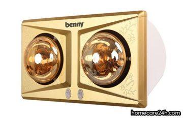 Đèn sưởi nhà tắm Benny là của nước nào, có đáng mua không