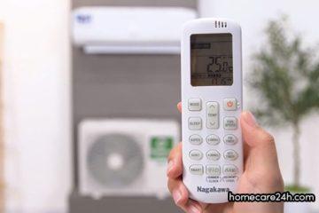 Cách hẹn giờ máy lạnh Nagakawa, hướng dẫn từ homecare24h