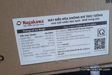 Máy lạnh Nagakawa của nước nào? được sản xuất ở đâu