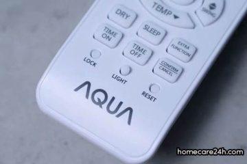 Cách chỉnh máy lạnh AQUA mát nhất, hướng dẫn từ homecare24h